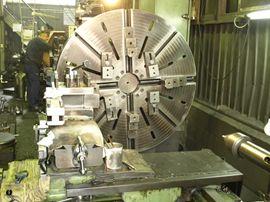 大型精密機械部品の製造